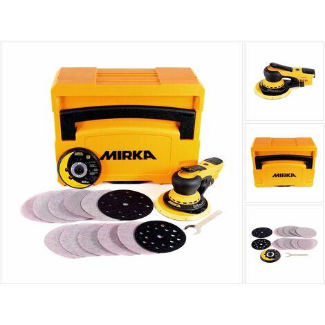 Mirka DEROS 5650CV Ponceuse excentrique 125mm/150mm 5,0 Hub Brushless + Coffret de transport ( MID5650202CA )