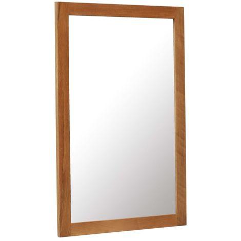 Miroir 60 x 90 cm Bois de chene massif