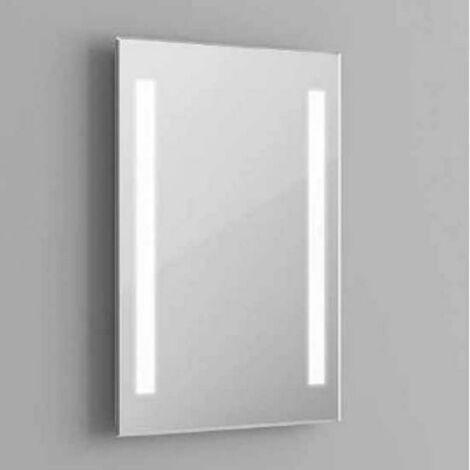 MIROIR A' LED POUR SALLE DE BAIN 30W LUMIE'RE FROIDE 6400K FER VT-8700 40451
