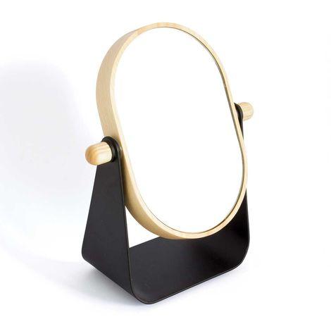 "Miroir à Poser ""Industriel"" Noir"