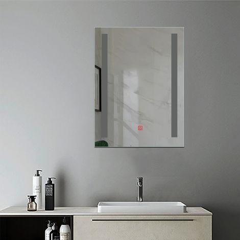 Miroir anti-buée Mural Lumière Illumination avec éclairage LED