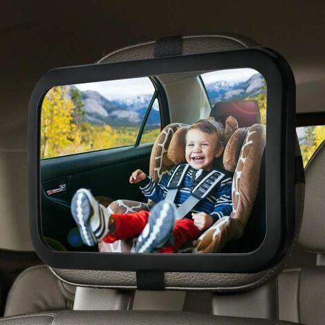 Miroir Auto Bébé Rétroviseur de Surveillance Bébé pour Siège Arrière Miroir de Voiture pour Bébé Sécurité