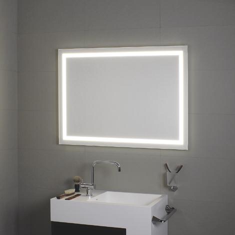 Miroir avec éclairage à LED tout au tour Perimetrale 140x70H - Koh-I-Noor L45951