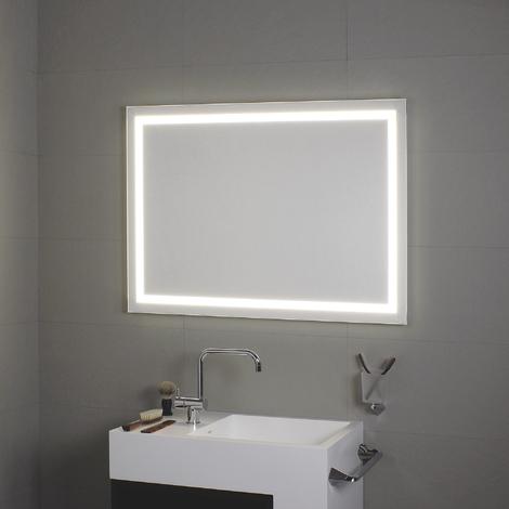 Miroir avec éclairage à LED tout au tour Perimetrale 90x70H - Koh-I-Noor L45982
