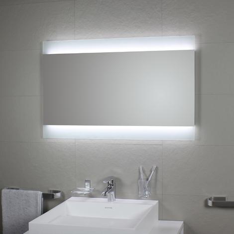 Miroir avec rétro-éclairage à LED Mate 120x82H - Koh-I-Noor L45980