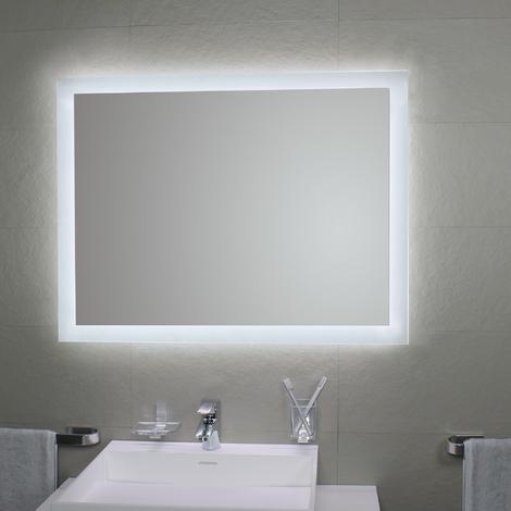 Miroir avec rétro-éclairage à LED Mate 4 80 x 80H - Koh-I-Noor L46024