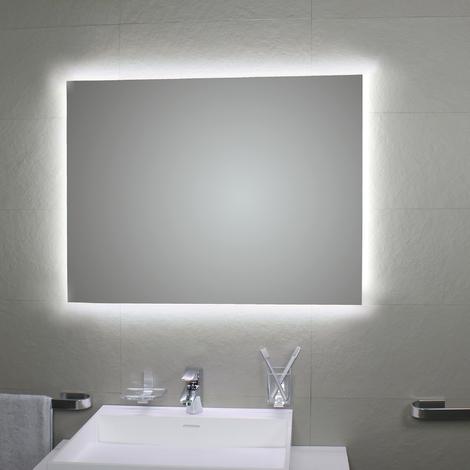 Miroir avec rétro-éclairage à LED Perimetrale 100 x 80H - Koh-I-Noor L46018