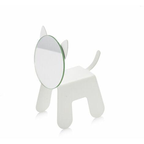 Miroir avec support en forme de chat