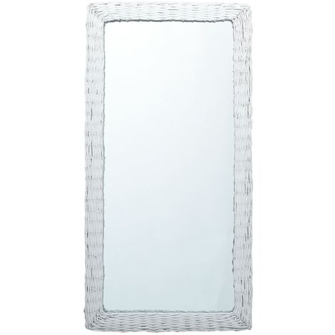 Miroir Blanc 120x60 cm Osier