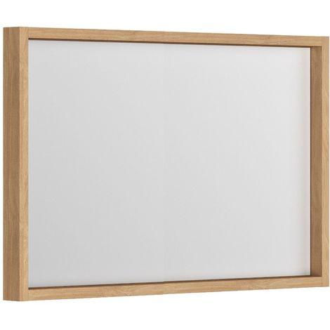 Miroir cadre 100 cm Bois SORENTO