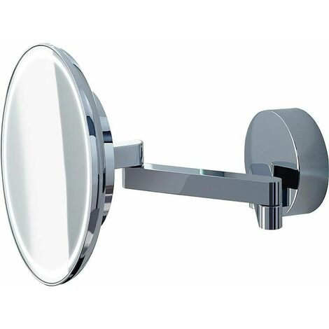 Miroir comestique Sam avec éclairage LED, grossissement x 3 raccord direct