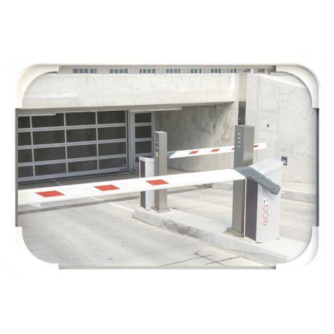 Miroir de circulation H400xB600mm plastique blanc 15 m