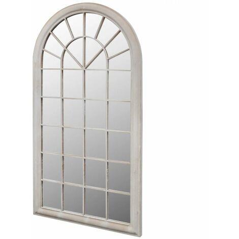 Miroir de jardin d'arche rustique 60x116 cm Intérieur/extérieur