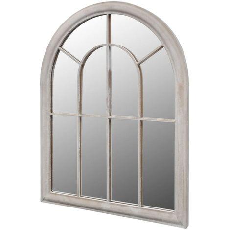 Miroir de jardin d'arche rustique 69x89 cm Intérieur/extérieur