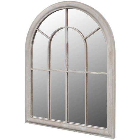 """main image of """"vidaXL Miroir de Jardin Arche Rustique Miroir d'Extérieur et d'Intérieur Meubles de Jardin Mobilier Moderne d'Extérieur Dimensions Diverses"""""""
