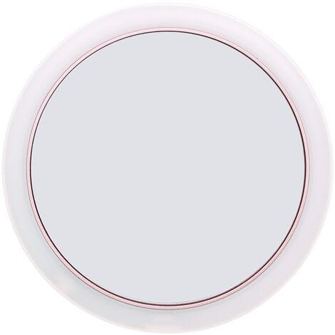 Miroir De Maquillage Led, Avec 3 Niveaux D'Eclairage, Or Rose