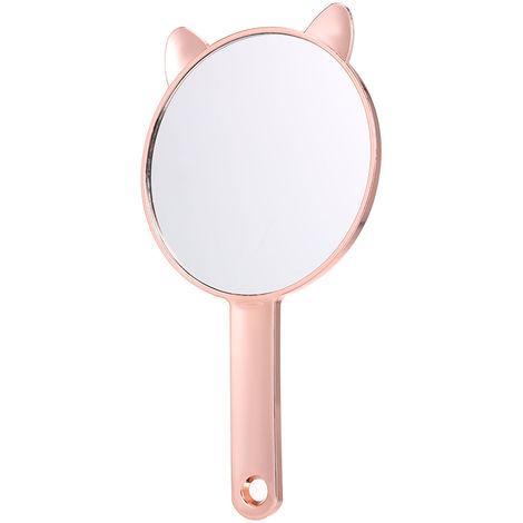 Miroir De Maquillage, Or Rose Rond