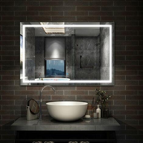 Miroir de salle de bain anti-buée