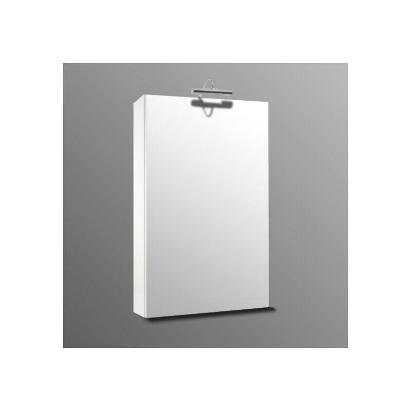 Miroir De Salle De Bain Armoire Avec Tablette De 45 X 75 Modele Martina