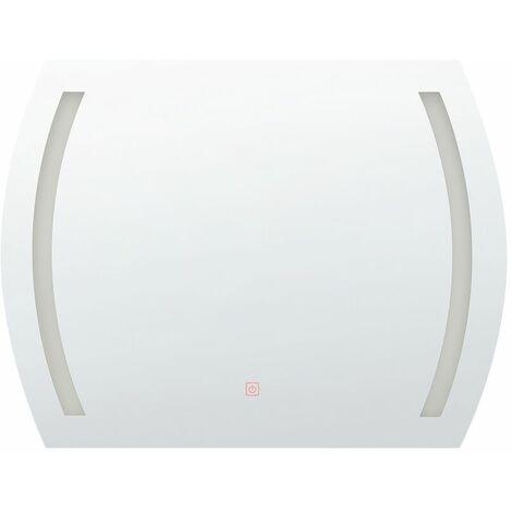 Miroir de salle de bain avec éclairage LED intégré