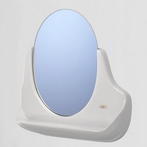 Miroir de salle de bain avec tablette serie IRIS DUO / Couleur: Blanc /  Référence: 305