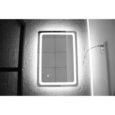 Miroir de Salle de Bain - Lumières LED