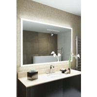 Miroir de Salle de Bain Salma Rasoir à Cadre LED avec Capteur k842ih