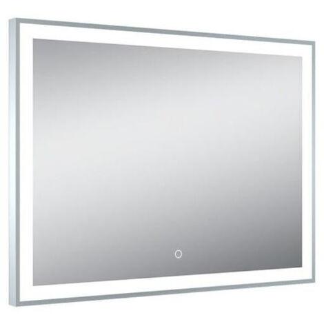 Miroir de salle de bain sensitive avec éclairage Led 70x65 NAOS - Pradel