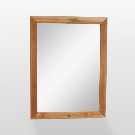 Miroir De Salle De Bain   Teck   120x90 Cm   Alto