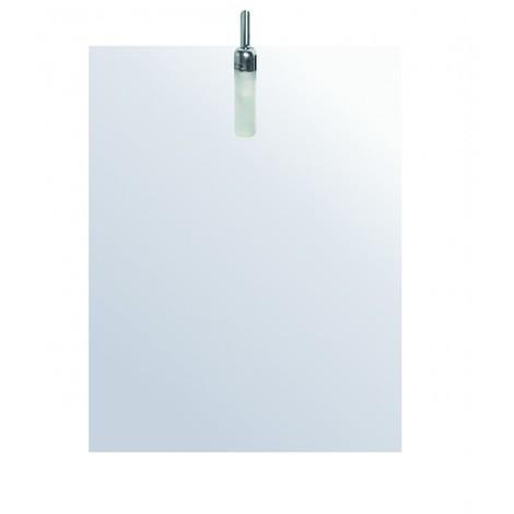 miroir de salle de bains avec clairage halog ne mod le. Black Bedroom Furniture Sets. Home Design Ideas