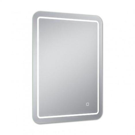 Miroir de salle de bains avec éclairage LED - 70 cm x 50 cm (HxL)