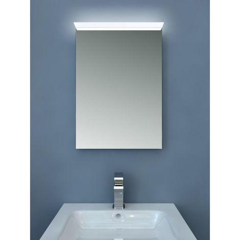 Miroir de salle de bains avec clairage led design - Glace de salle de bain avec eclairage ...