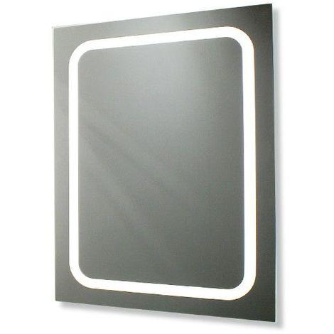 Modèle Bains Éclairage Led X Miroir 60 Salle De Cm Avec 80 80knPwO