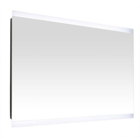Miroir de salle de bains avec éclairage LED - Modèle Design - 60 cm x 80 cm (HxL)