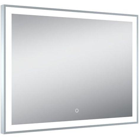 Miroir de salle de bains avec éclairage LED - Modèle Elegant Led - 60 cm x 80 cm (HxL)
