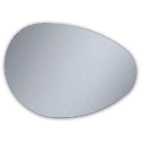 Miroir de salle de bains avec éclairage LED - Modèle Ovo 120 - 80 cm x 120 cm (HxL)