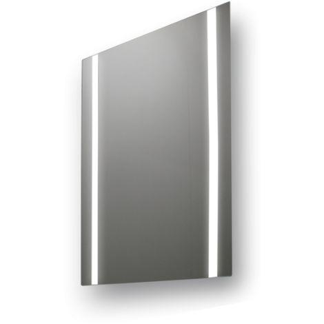 Miroir de salle de bains avec éclairage LED - Modèle SINGLE - 90 cm x 60 cm (HxL)