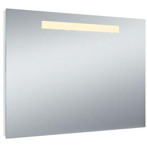 """main image of """"Miroir de salle de bains avec éclairage LED remplaçable - Modèle One - 65 cm x 90 cm (HxL)"""""""