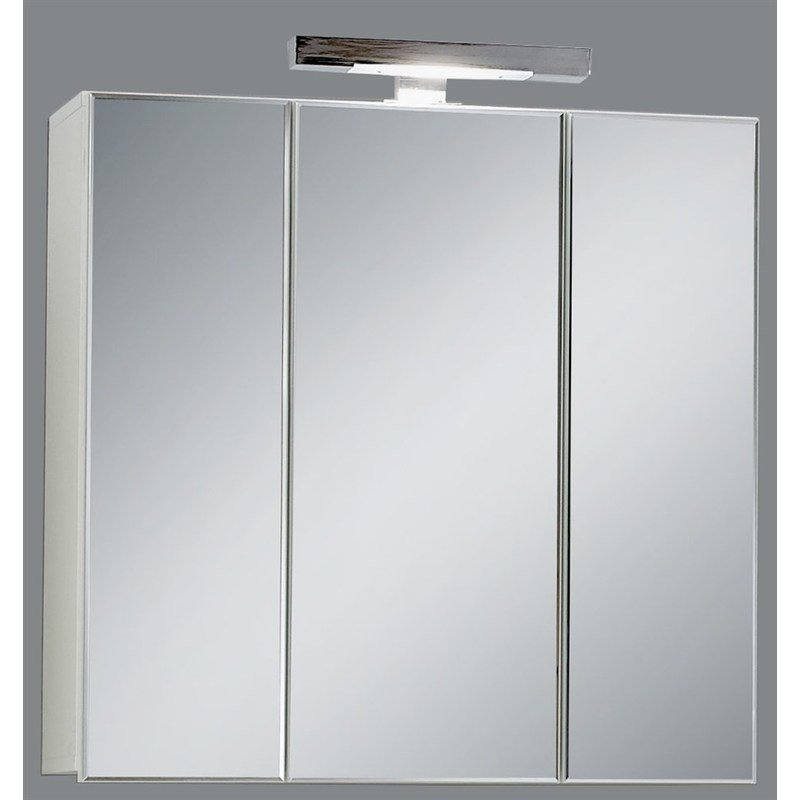 Miroir de salle de bains avec éclairage Swithome Zamora Blanc - 925 ...