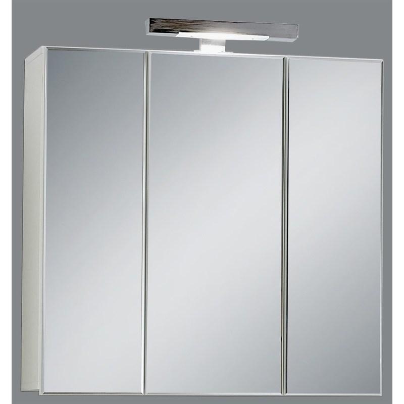 eclairage miroir Miroir de salle de bains avec éclairage Swithome Zamora Blanc -  925-003-blanc
