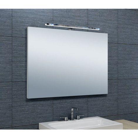 Miroir de salle de bains avec spot LED Horizontale - 65 cm x 90 cm (HxL)