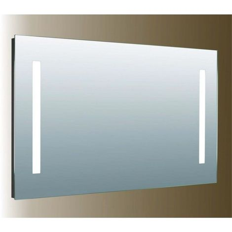 Miroir de salle de bains LED - Modèle 120 - 70 cm x 120 cm (HxL)