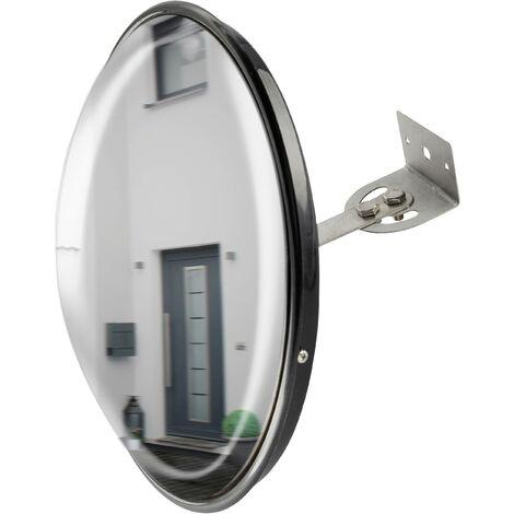Miroir de sécurité en verre acrylique Ø 30 cm D693761