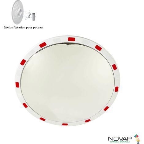 Miroir de sécurité pour voies privée - Ø 600 mm - 6101529
