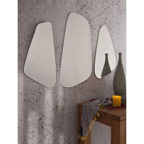 Miroir Décoratif Design - Les 3 chics - Plastique