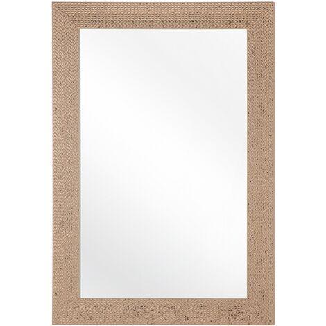 Miroir doré 60 x 90 cm LELAVANDOU