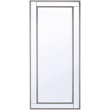 Miroir doré et argenté 50 x 130 cm FENIOUX