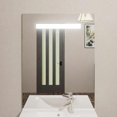 Miroir ELEGANCE 80x105 cm - rétro-éclairant à LED et interrupteur sensitif