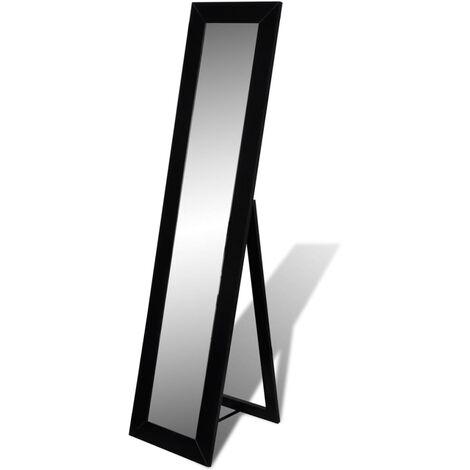 Miroir en pied noir