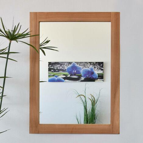 Miroir en teck Lazy 90 x 70 cm